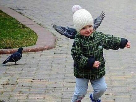 Mały aniołek