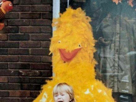 Wielki Ptak z Ulicy Sezamkowej kiedyś był przerażający