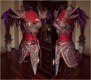 Zbroja do cosplay'u Tyrande z World of Warcraft