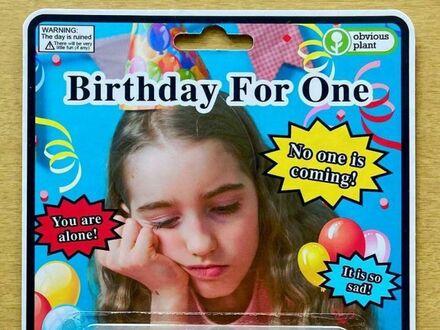 Zestaw urodzinowy dla kogoś bez przyjaciół