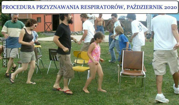 procedura przyznawania respiratorów