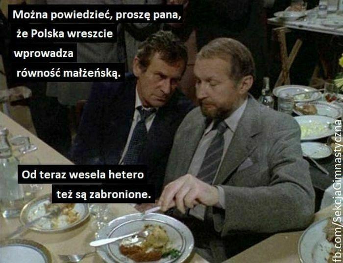można powiedzieć proszę pana że polska wreszcie