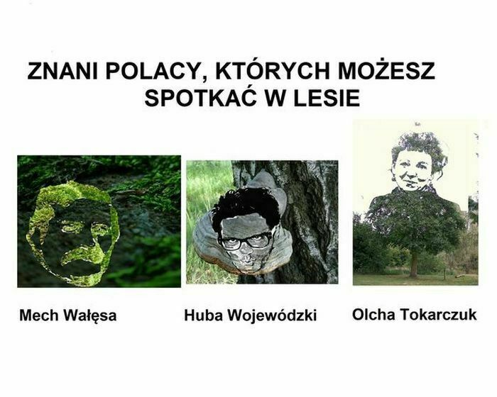 znani polacy których możesz spotkać w lesie