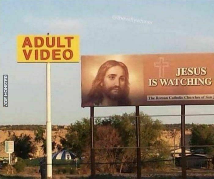 adult video jesus is watching