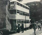 Autobus piętrowy w Berlinie, rok 1926