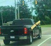 Gdyby tylko istniał bezpieczniejszy sposób na transport tej deski
