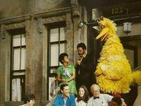 Oryginalna obsada Ulicy Sezamkowej, 1969