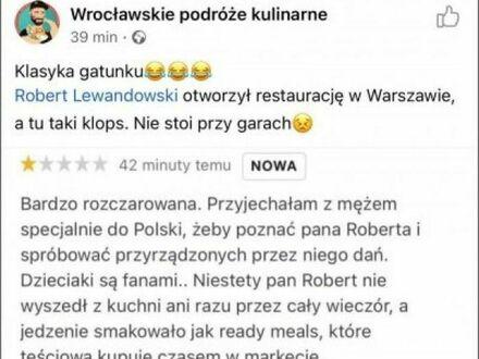Panie Robercie Lewandowski, no jak to tak, trochę wstyd