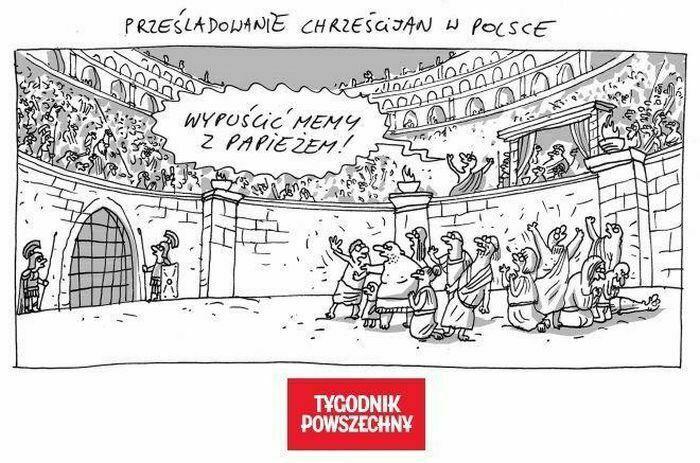 prześladowanie chrześcijan w polsce