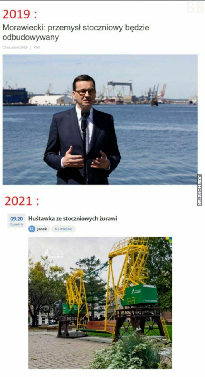 2019 morawiecki przemysł stoczniowy będzie