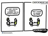Randka z geodetą