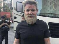 Gordon Ramsay zapuścił pokaźną brodę