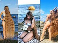 Prawdziwa Roszpunka, Alla Perkova, która nie ścinała swoich włosów od 30 lat