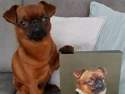 Dumny ze swojego portretu