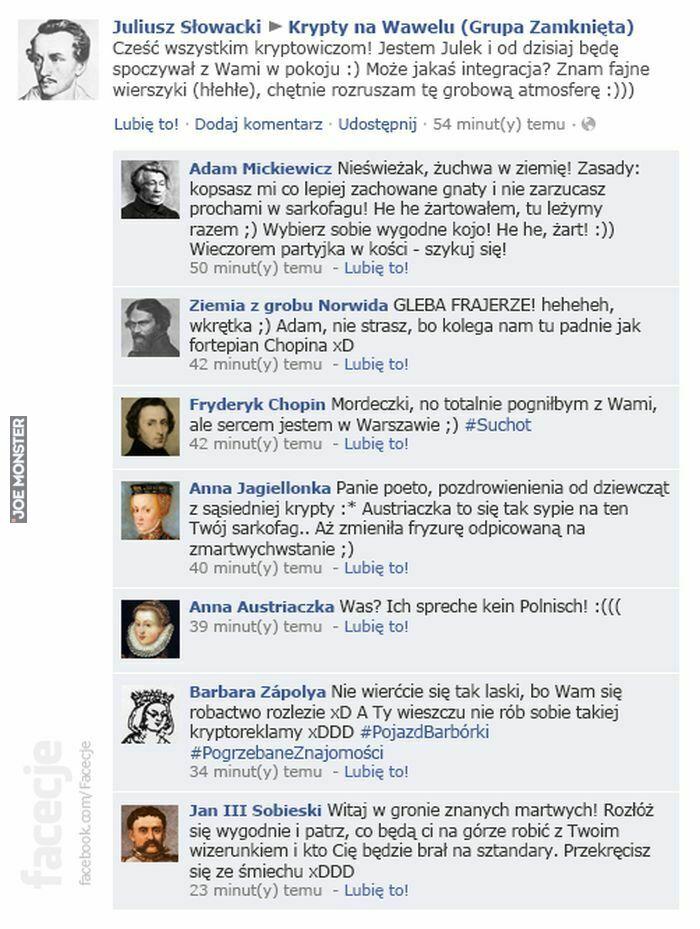 juliusz słowacki cześć wszystkim kryptowiczom