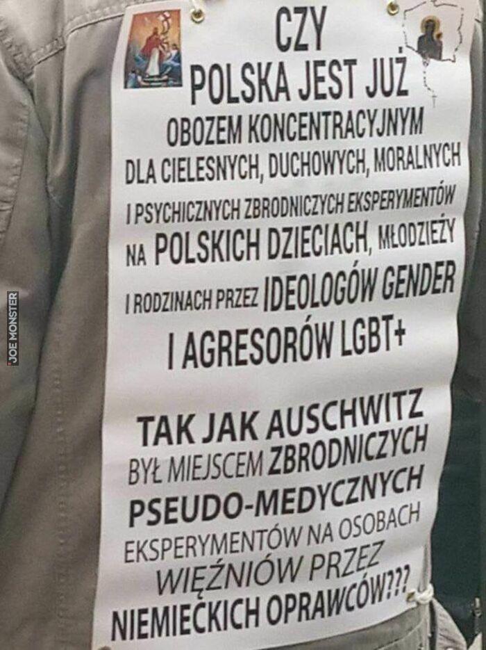 czy polska jest już obozem koncentracyjnym