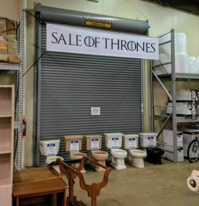 sale of thrones
