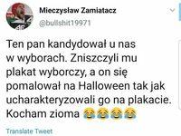 Pan Łukasz specjalnie na Halloween