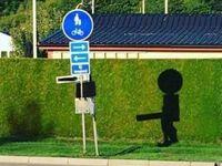 Znak drogowy inny niż wszystkie