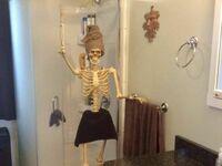 Żonka trochę przy kości, ale czyściutka