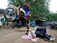 Bollywoodzkie sztuczki kaskaderskie