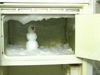 Kiedy na zewnątrz nie ma śniegu, ale chciałeś ulepić bałwana