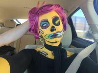 Komiksowa pani zombie