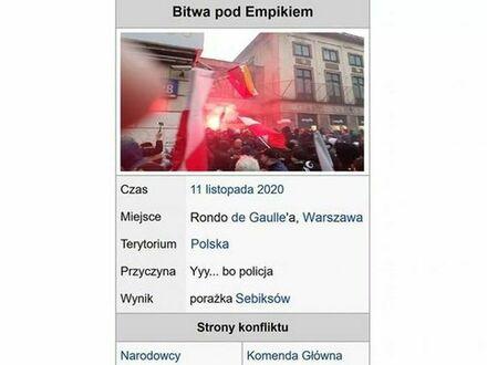 Wojna pod Empikiem