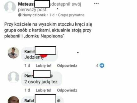 Szybka interwencja pod kościołem w Białymstoku
