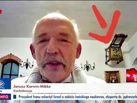 Kiedy orientujesz się, że Krul Janusz udzielając wywiadu siedzi na oknie