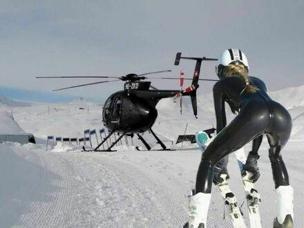 Ktoś ma ochotę na narty