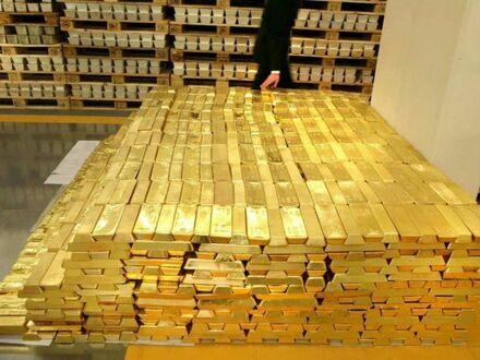 Tak wygląda 1,6 mld dolarów w złocie