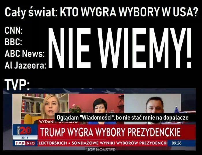 cały świat: kto wygra wybory w USA