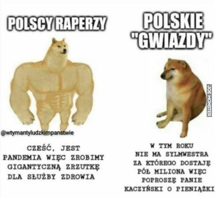 polscy raperzy cześć jest pandemia więc zrobimy