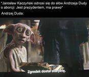 Andrzej jest wolnym skrzatem!