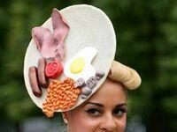 Śniadaniowy kapelusz