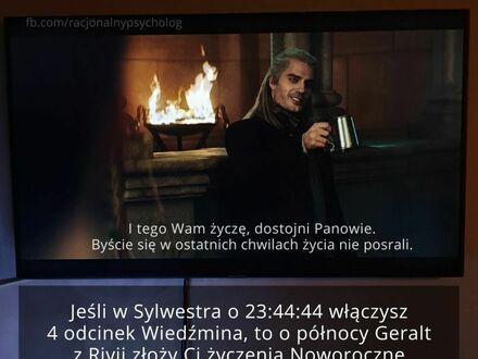 Geralt może ci złożyć życzenia