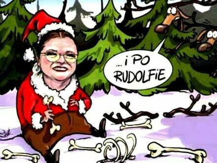 Świąt nie będzie, bo Rudolf się zepsuł