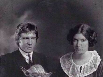 Gwiezdne Wojny - fotografia rodzinna