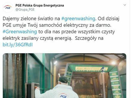 Greenwashing to obraźliwe określenie takich właśnie reklam