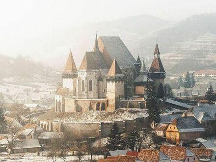 Zima w Transylwanii