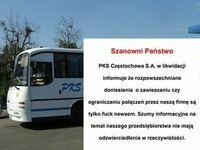 Takie fake busy tam mają w tym częstochowskim PKS