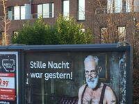 Cicha noc była wczoraj - reklama niemieckiej aplikacji do randkowania dla osób 50+