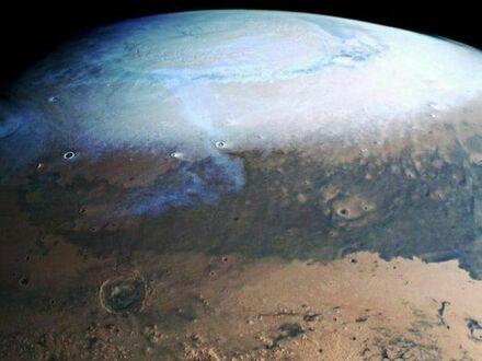 Mars w obiektywie europejskiej sondy Mars Express