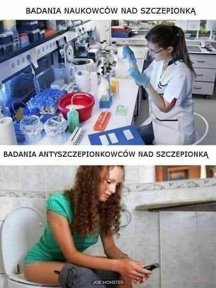 badania naukowców nad szczepionką
