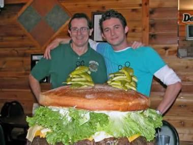 Największy na świecie hamburger