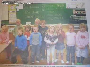 Nauka języków obcych w norweskiej szkole...
