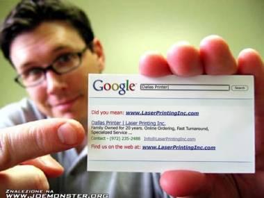 Współczesna wizytówka firmowa