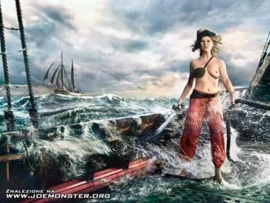 Prawdziwa piratka... :C