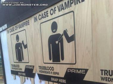Reklama serialu o wampirach